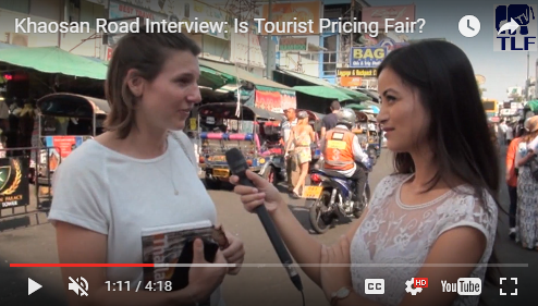 Khaosan Road Interview: Is Tourist Pricing Fair?
